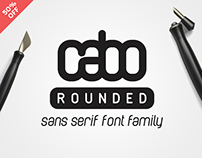 Cabo Rounded Sans Serif Font Family