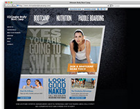 Ultimate Body Boot Camp website