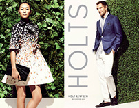 Holt Renfrew - Spring 2012 - Look Books