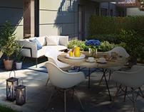 One terrace