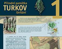GRAFIKA: Naučná stezka Turkov