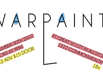 Warpaint Tour Poster