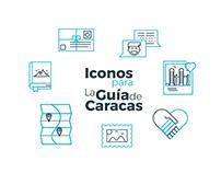 Iconos para La Guía de Caracas
