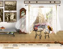 Макет сайта по декору интерьеров