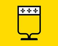 Route des bières de l'Est du Québec – Logo & Branding