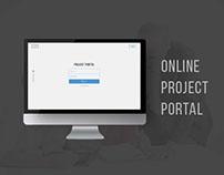 Project Portal | UI/ UX Design