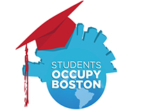 Students Occupy Boston Logo & Poster Design