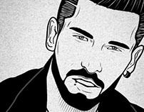 Tony Ink Portrait