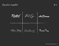 Signature Logofolio | V-1