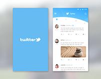 Twitter timeline redesign