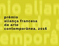 Prêmio Aliança Francesa de Arte Contemporânea, 2016