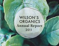 Wilson's Organics Annual Report