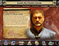 Sitio Web Flash Kung Fu Tsung Chiao Hunggar