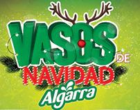 Vasos de Navidad Algarra