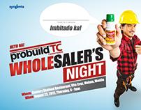 PROBUILD WHOLESALER'S NIGHT
