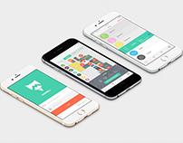 Markit ios app design