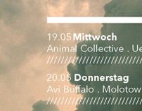weekly concert calendar #1