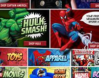 Marvel Universe E-commerce