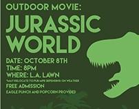 Jurassic World Event Poster