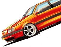 Automotive Illustrations (2010-12)