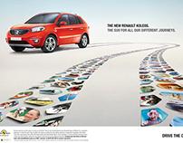 Campaign: Renault Koleos for Droga 5