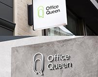 Логотип онлайн-сервиса Office Queen