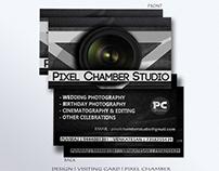 Visiting Card Design | Pixel Chamber studios |