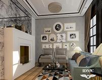 Salon , living room