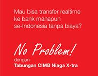 Tabungan CIMB Niaga X-tra - No Problem