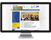 Colégio Objetivo | Site feito em 2009