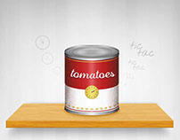 Tomatoes // Icon design