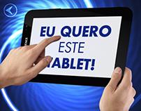 Promoção: Eu quero este tablet!