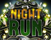 Nike Advert - Night run campaign visuals