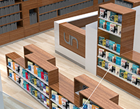 Library furniture design - Libreria UN las nieves