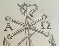 Chi Rho Anchor