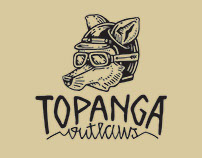 Topanga Outlaws Logotype