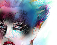 Kate Moss Illustration