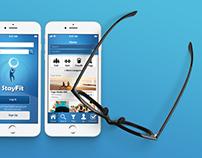 UI: StayFit app
