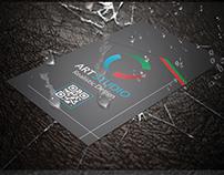 Vertical Business Card V.07