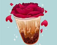 Rose Boba