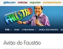 TV Globo | Avião do Faustão
