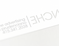 Carte Blanche Advertising Business Card