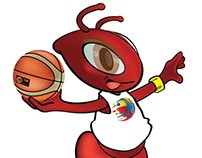 Mascota FIBA Preolímpico de Baloncesto Caracas 2012