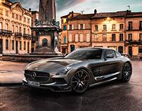 Mercedes SLS CGI