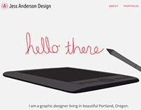 One Page Web Portfolio