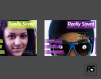 Really Saved Magazine Logo + Cover Redesign