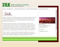 EPB Consultants Corporate Web Site