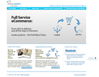 arvato systems USA - site redesign