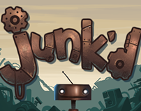 Junk'd game - pixel art and animation