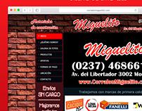 Corralon Miguelito | Diseño Web